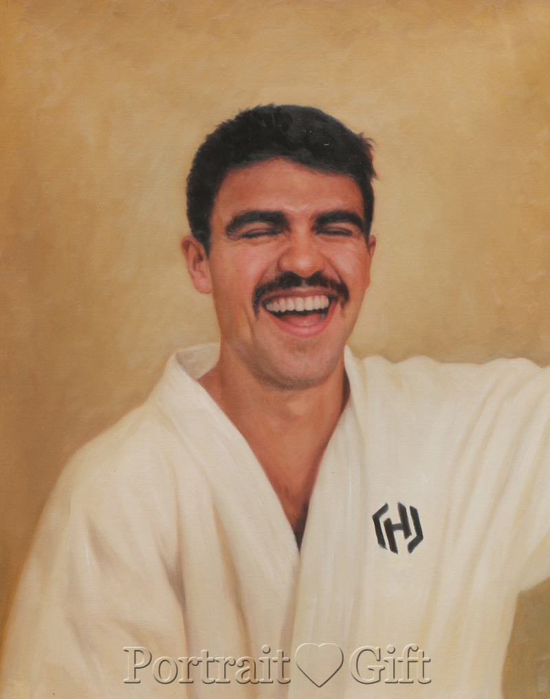 Smiling Karate Male
