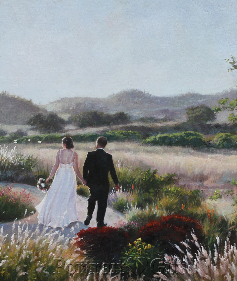 wedding amp landscape portrait gift