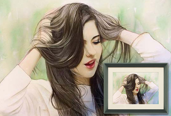 Watercolor-Girl-Portrait