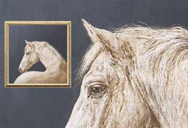 Scratchboard Horse