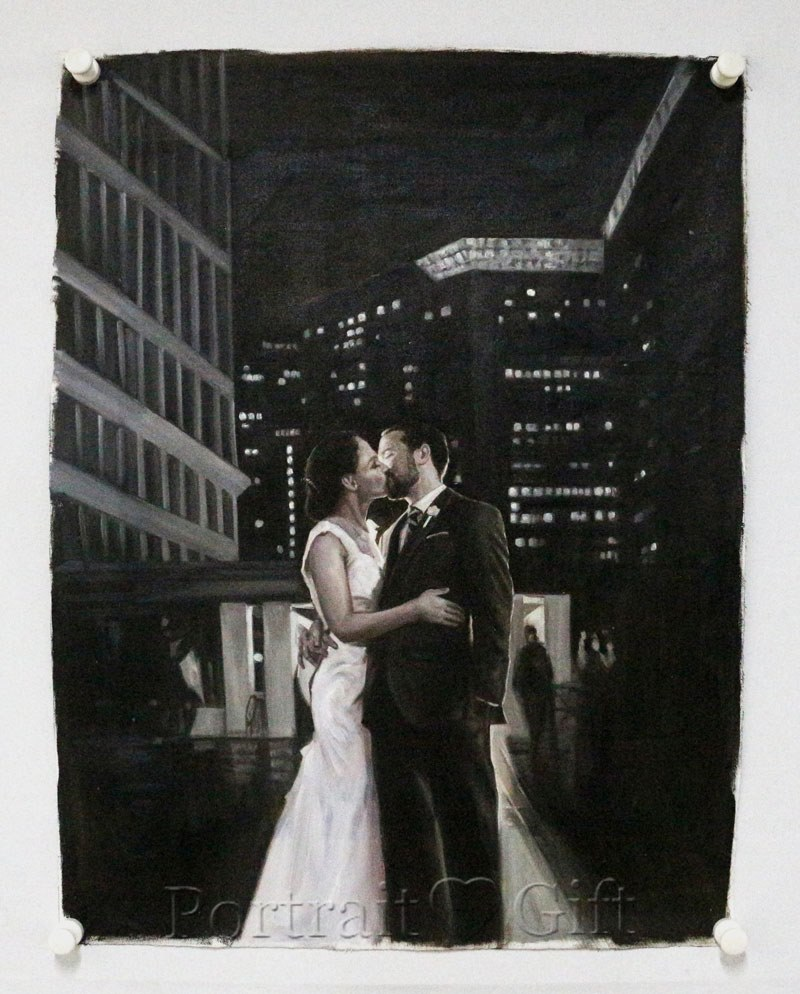 Couple in Kiss 2