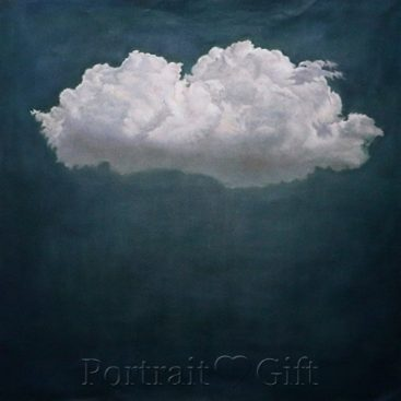 Abstract Cloud Oil Painting