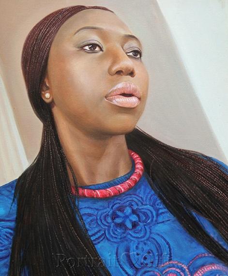 African Woman Portrait