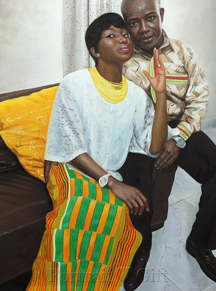 African Young Couple