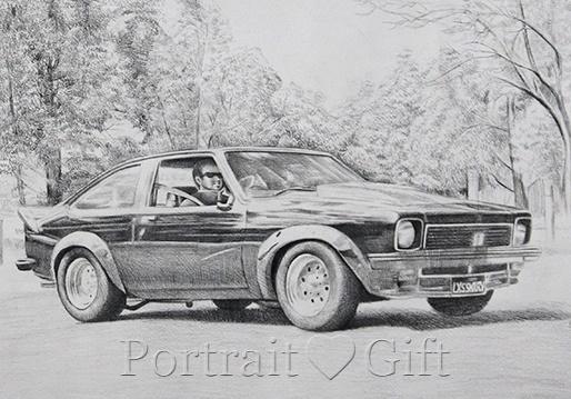 Car Photo to Pencil Sketch