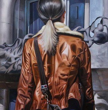 Girl in Brown Jacket