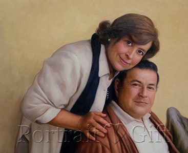 Lovely Couple Portrait