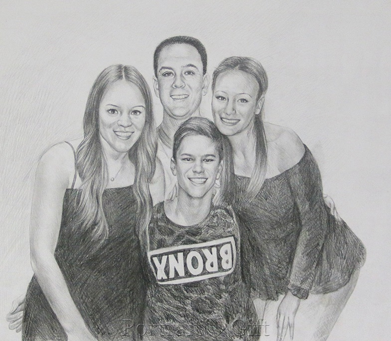 Happy Family Sketch