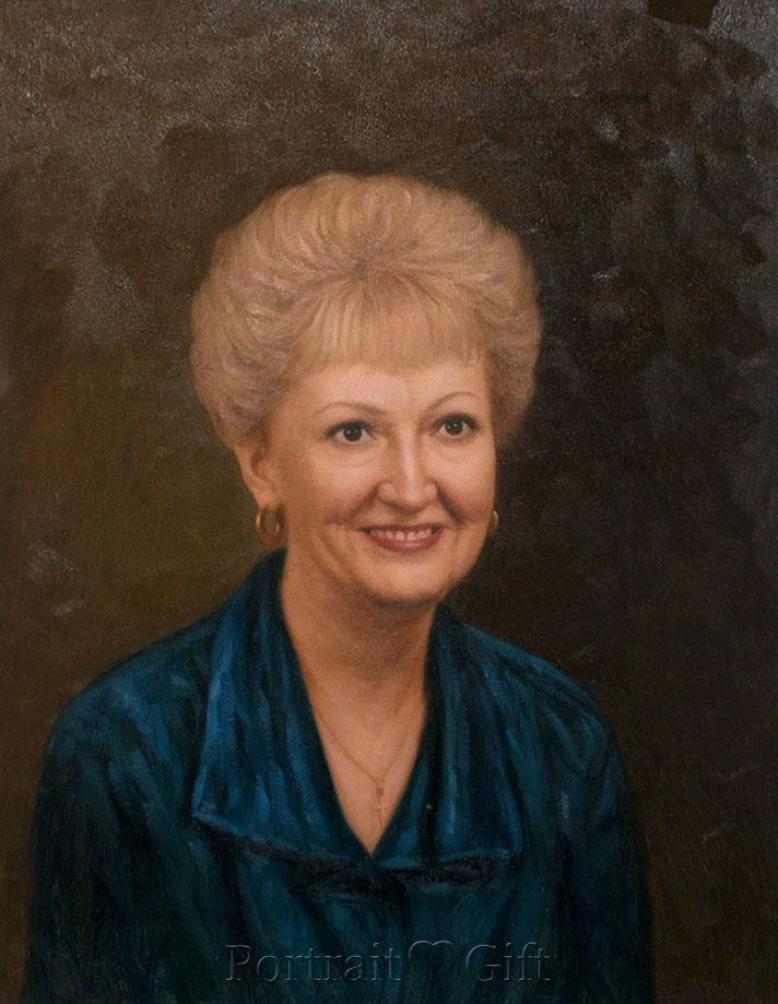 Grandma with Golden Hair