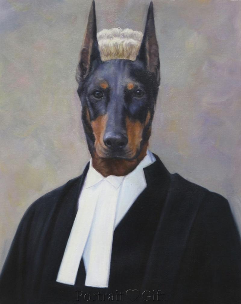 In-masterpiece Dog Portrait